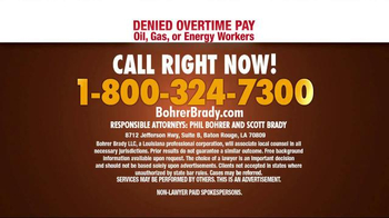 Bohrer Law Firm TV Spot, 'Denied Overtime Pay' - Thumbnail 6