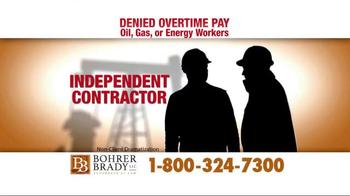Bohrer Law Firm TV Spot, 'Denied Overtime Pay' - Thumbnail 1