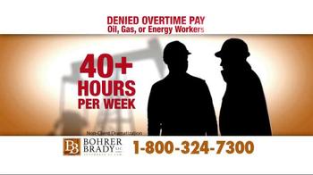 Bohrer Law Firm TV Spot, 'Denied Overtime Pay' - Thumbnail 2