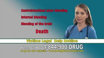 Longo Legal TV Spot, 'Xarelto or Pradaxa Dangerous Bleeding' - Thumbnail 3