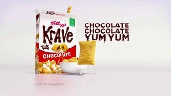 Kellogg's Krave Chocolate TV Spot, 'Alarm' - Thumbnail 9
