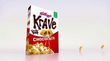 Kellogg's Krave Chocolate TV Spot, 'Alarm' - Thumbnail 2