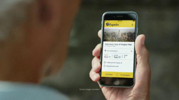 Expedia Hotels, Flights & Cars App TV Spot, 'Bucket List' - Thumbnail 2