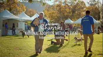 PetSmart 2015 National Adoption Weekend Event TV Spot, 'Change Your World' - 2135 commercial airings