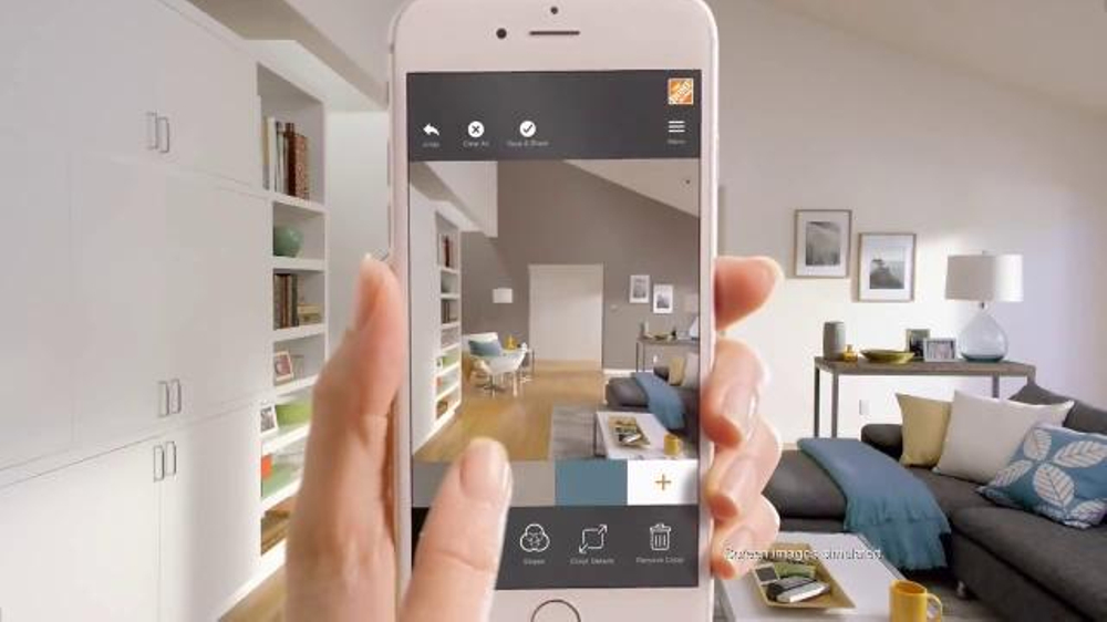 The Home Depot Project Color App TV Commercial, 'Save on BEHR and Glidden'