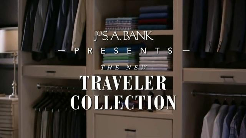 JoS. A. Bank TV Commercial, 'The New Traveler Collection'