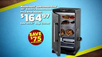 Bass Pro Shops Labor Day Blowout TV Spot, 'Electric Smoker' - 156 commercial airings