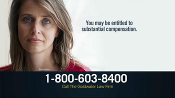 Goldwater Law Firm TV Spot, 'Transvaginal Mesh Implant Victims' - Thumbnail 3