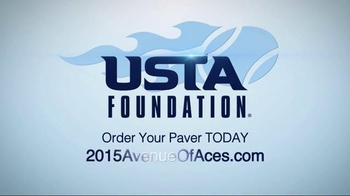 USTA Foundation Brick & Paver Program TV Spot, 'Foundation Brick and Paver' - Thumbnail 7