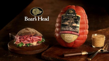 Boar's Head Beechwood Smoked Black Forest Ham TV Spot, 'Rich and Smooth' - Thumbnail 8