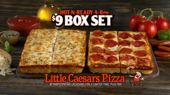 Little Caesars Pizza Box Set TV Spot, 'Now You Can Have Both' - Thumbnail 6
