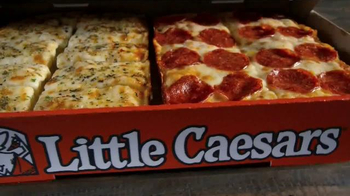 Little Caesars Pizza Box Set TV Spot, 'Now You Can Have Both'