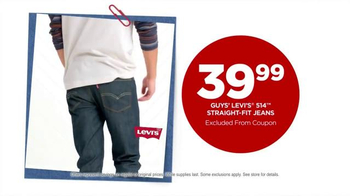 JCPenney Labor Day Sale TV Spot, 'Levi's Jeans for Him & Her' - Thumbnail 2