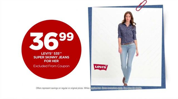 JCPenney Labor Day Sale TV Spot, 'Levi's Jeans for Him & Her' - Thumbnail 3