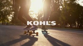 Kohl's Labor Day Weekend Savings TV Spot, 'Skateboarding' - Thumbnail 1
