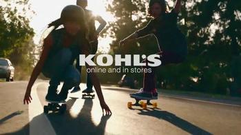 Kohl's Labor Day Weekend Savings TV Spot, 'Skateboarding' - Thumbnail 7