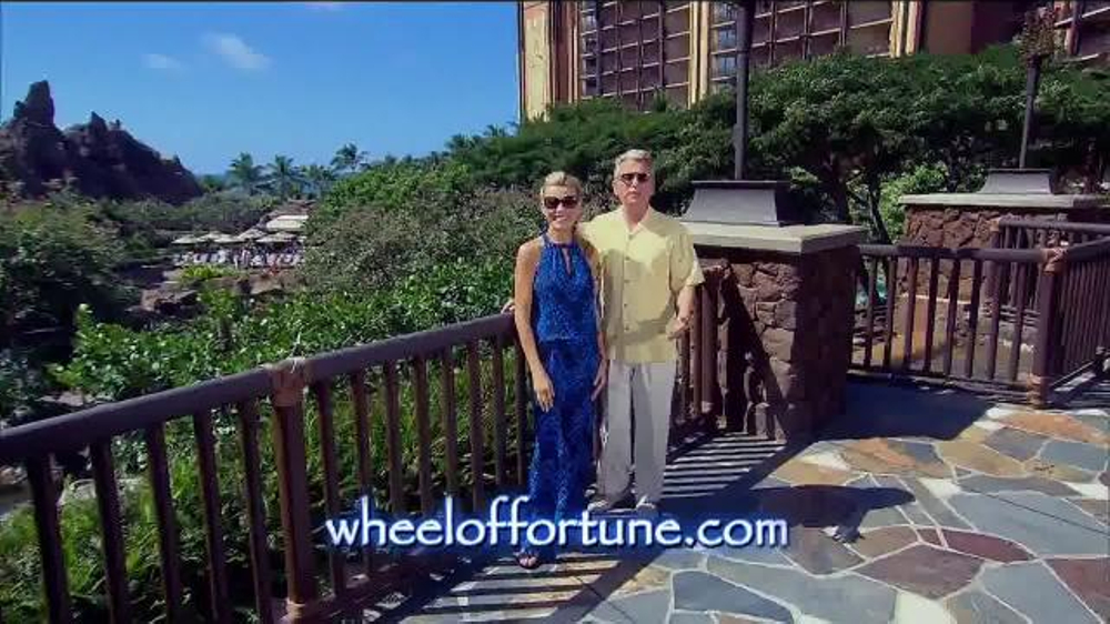 Disney Aulani TV Commercial, 'Wheel of Fortune: Sea & Shore Week Sweepstakes'