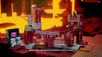 LEGO Minecraft TV Spot, 'Nether'