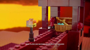 LEGO Minecraft TV Spot, 'Nether' - Thumbnail 4