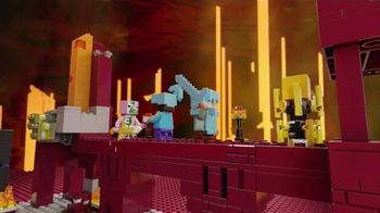 LEGO Minecraft TV Spot, 'Nether' - Thumbnail 6