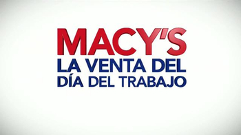 Macy's La Venta del Día del Trabajo TV Spot, 'Colchones' [Spanish] - Thumbnail 7