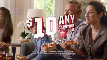 Pizza Hut Any Carryout Deal TV Spot, 'Football Season' - Thumbnail 6