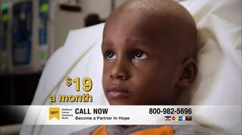 St. Jude Children\'s Research Hospital TV Spot, \'Fight to End Cancer\'