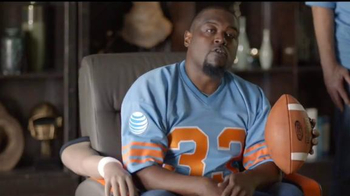 AT&T TV Spot, 'College Football: Armchair' Featuring Bo Jackson - 105 commercial airings