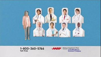 AARP Medicare Supplement Plans TV Spot, 'Freedom to Choose' - Thumbnail 4