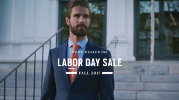 Men's Wearhouse Labor Day Sale TV Spot, 'Your Fall Style'