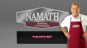 EdenPURE Namath Rapid Cooker TV Spot, 'Forget Traditional'