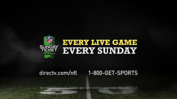 DIRECTV NFL Sunday Ticket TV Spot, 'Hide and Seek Andrew Luck' - Thumbnail 9
