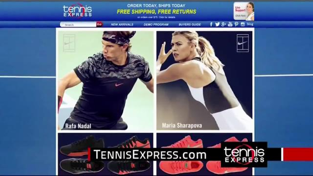 Tennis Express TV Commercial, 'Nike Tennis Gear'