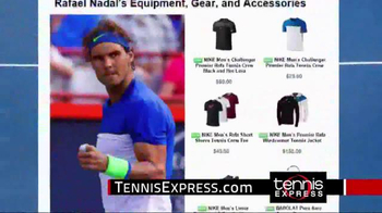 Tennis Express TV Spot, 'Nike Tennis Gear' - Thumbnail 4