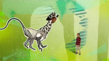 Lunchables Chicken Popper Kabobbles TV Spot, 'Disney XD: Animal Mashups' - Thumbnail 7
