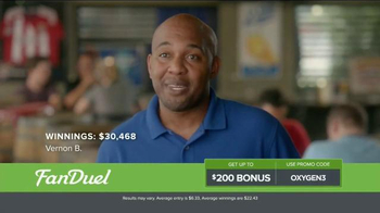 FanDuel Fantasy Football One-Week Leagues TV Spot, 'Win Money Every Week' - Thumbnail 1