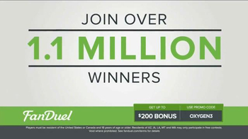 FanDuel Fantasy Football One-Week Leagues TV Spot, 'Win Money Every Week' - Thumbnail 2