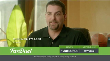 FanDuel Fantasy Football One-Week Leagues TV Spot, 'Win Money Every Week' - Thumbnail 3