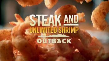 Outback Steakhouse Steak & Unlimited Shrimp TV Spot, 'Camarones' [Spanish] - Thumbnail 8