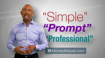 Money Mutual TV Spot, 'Fast, Easy, Secure' Featuring Montel Williams - 3390 commercial airings