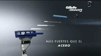 Gillette MACH3 TV Spot, 'Alambre de cobre' [Spanish] - Thumbnail 5