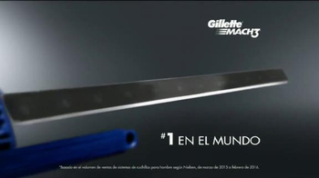 Gillette MACH3 TV Spot, 'Alambre de cobre' [Spanish] - Thumbnail 9