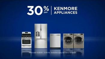 Sears Lowest Prices of the Season TV Spot, 'Echo: Kenmore Appliances' - Thumbnail 6