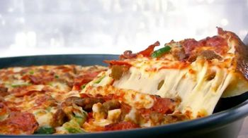Papa John's Pan Pizza TV Spot, 'Loaded With Cheese' - 9 commercial airings