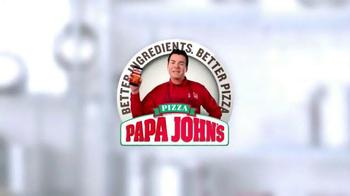 Papa John's Pan Pizza TV Spot, 'Loaded With Cheese' - Thumbnail 7