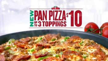 Papa John's Pan Pizza TV Spot, 'Loaded With Cheese' - Thumbnail 6