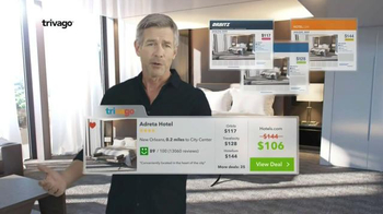 trivago TV Spot, 'Side-by-Side Comparisons for the Lowest Price' - 7418 commercial airings