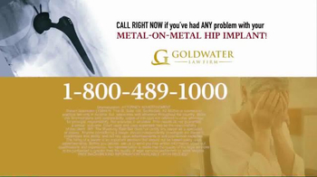 Goldwater Law Firm TV Spot, 'Certain Stryker Hip Implants Recalled!' - Thumbnail 5