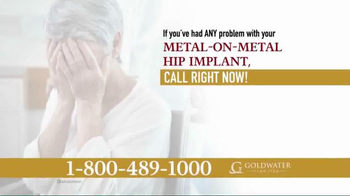 Goldwater Law Firm TV Spot, 'Certain Stryker Hip Implants Recalled!' - Thumbnail 3