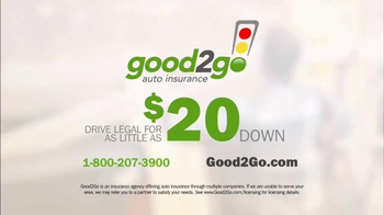 Good 2 Go Auto Insurance TV Spot, 'Get Where You're Going On Your Own' - Thumbnail 7